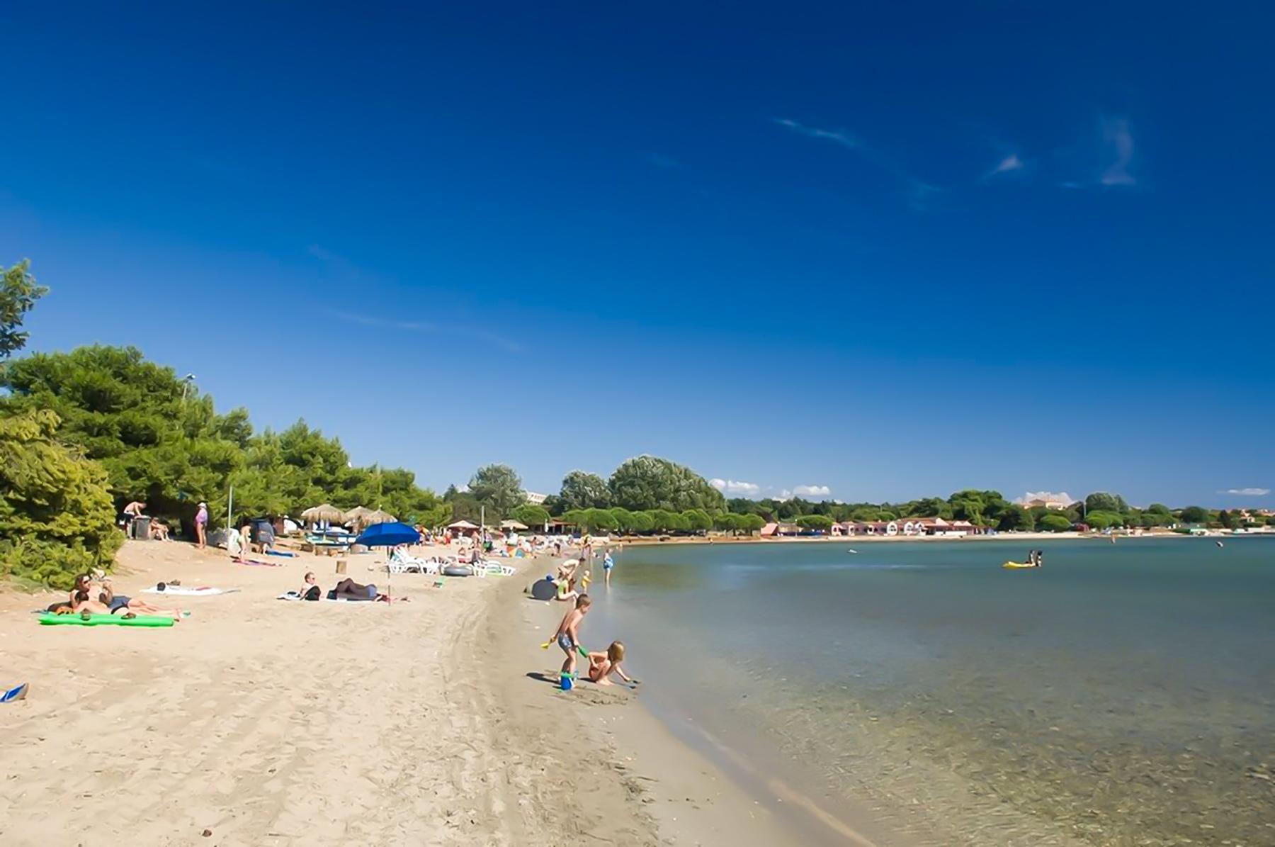 Strande Istrien Karte.Die Top Sandstrande In Kroatien Sandstrand In Kroatien