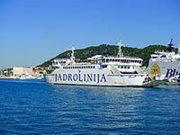 Fährverbindungen in Kroatien