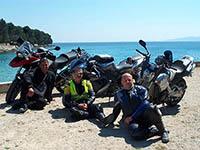 Motorradtour Kroatien