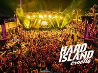 Hard Island @ Aquarius Club, Zrce