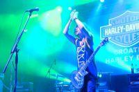 Croatia Harley Days 2014 Bograd - Live Musik