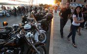 Promenade bei den Croatia Harley Days