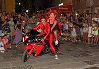 Sommerkarneval Senj - Maskiertes Motorrad Turnier