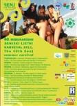 Sommerkarneval 2011 - Flyer