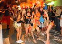 Sommerkarneval Senj - Karnevalsumzug - schönste Kindermasken