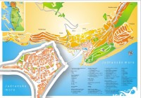 Stadtplan Senj