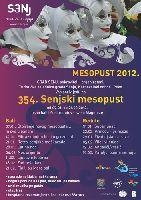 Winterkarneval 2012 - Flyer