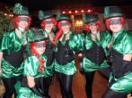 Winterkarneval - maskierte Gruppen