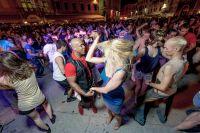 Summer Salsa Festival Rovinj - Tanzfläche Stadtplatz