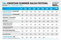 Salsa Festival Rovinj - Tickets & Preise