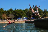 Springbreak Europe Kroatien 2014 - Abkühlung im Meer