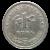 1 Kuna Münze Vorderseite
