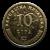 10 Lipa Münze Vorderseite