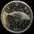 2 Kuna Münze Rückseite