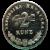 2 Kuna Münze Vorderseite