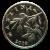 20 Lipa Münze Rückseite