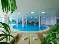 Blick auf den Wellnessbereich im Hotel Milenij Grand