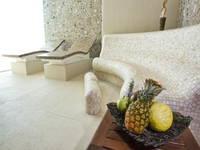 Blick auf den Wellnessbereich im Hotel Milenij