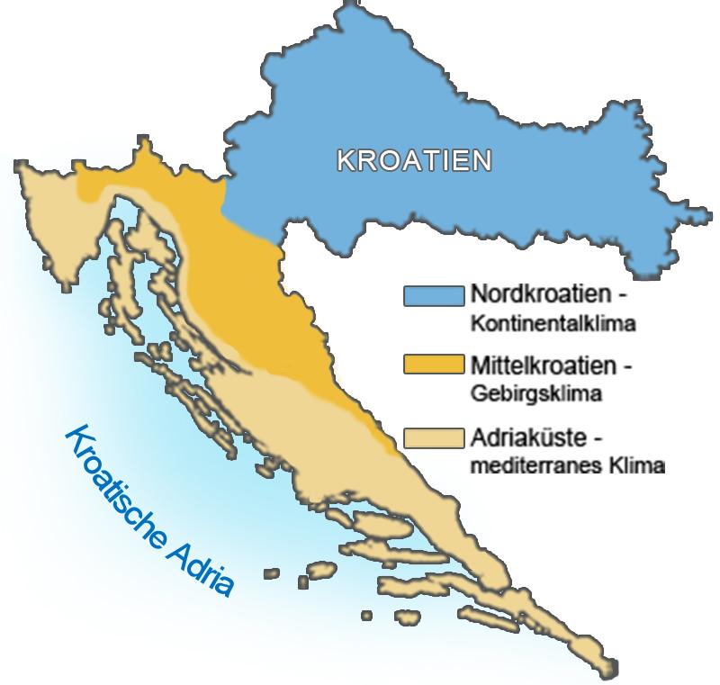 wetter kroatien juni