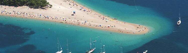 Kroatien - Mitteldalmatien - Zlatni Rat - Das Goldene Horn