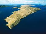 Felslandschaft auf der Insel Pag