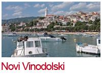 Der benachbarte Ferienort Novi Vinodolski