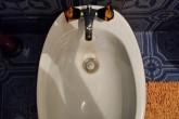 Schmutziges Badezimmer