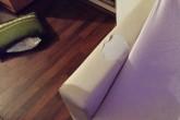 Abgewohnte, unbequeme Möbel