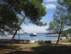 Nationalpark Brijuni - Ankunft des Schiffes