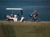 Nationalpark Brijuni - Radfahren