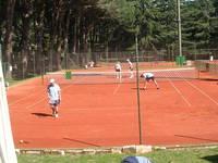 Nationalpark Brijuni - Tennis