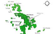 Nationalpark Brijuni - Übersichtskarte Nationalpark