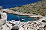 Bucht im Nationalpark Kornati