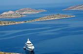 Bootsfahrt Kornaten, Kroatien