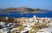 Karge Landschaft, Nationalpark Kornati