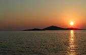 Sonnenuntergang im Nationalpark Kornati