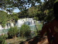 Nationalpark Krka - Baden