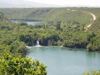 Nationalpark Krka - Brljan Wasserfall