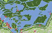 Nationalpark Krka - Karte Skradinski buk Wasserfall
