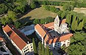 Nationalpark Krka - Luftaufnahme Kloster Krka