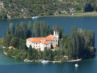 Nationalpark Krka - Insel Visovac - Franziskanerkloster