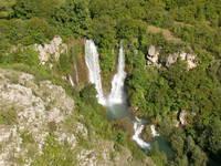 Nationalpark Krka - Manojlovac Wasserfall