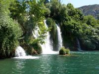 Nationalpark Krka - Roski slap Wasserfall