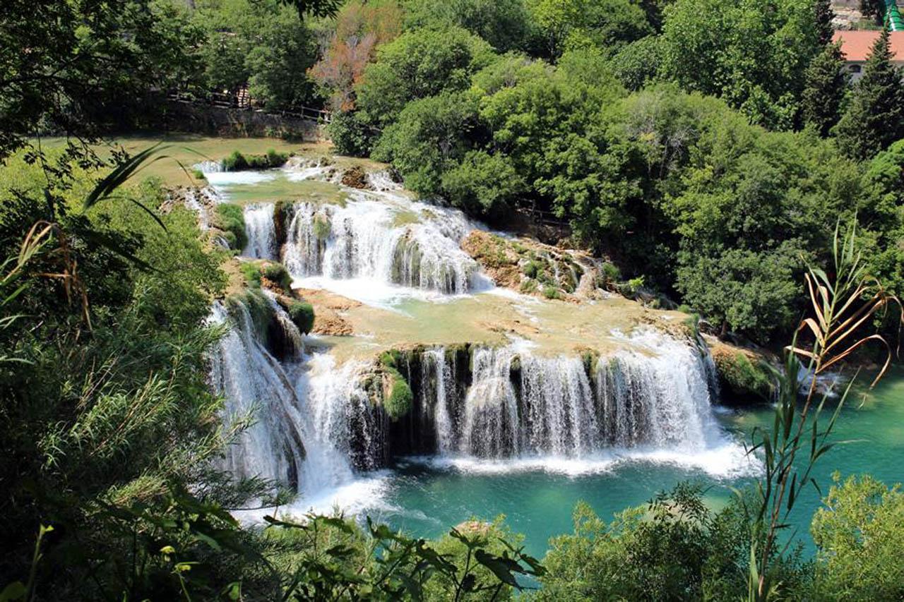 Картины водопад