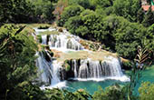 Nationalpark Krka - Wasserfall Skradinski buk