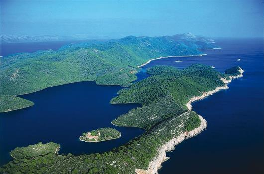 Nationalpark Mljet - Dalmatien