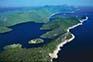 Luftaufnahme, Nationalpark Mljet