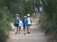 Wandern im Nationalpark Mljet
