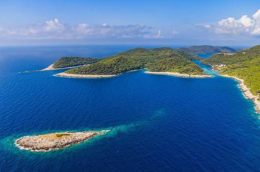 Nationalpark Mljet, Kroatien