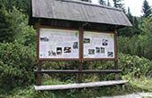 Nationalpark Nord-Velebit - Lehrtafel Botanischer Garten